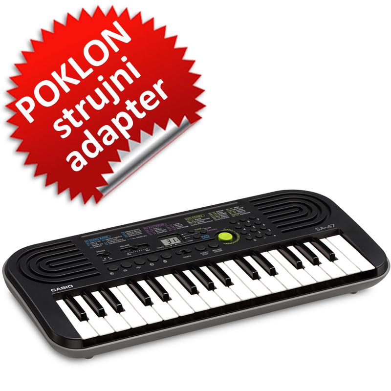 Casio SA-47 klavijatura 0