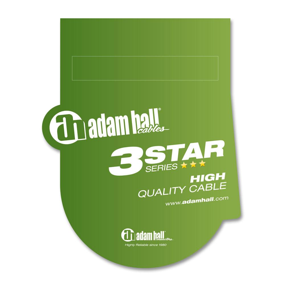 Adam Hall K3MIDI0300BLK midi kabl 3m
