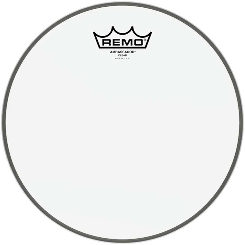 Remo 10″ Ambassador Clear