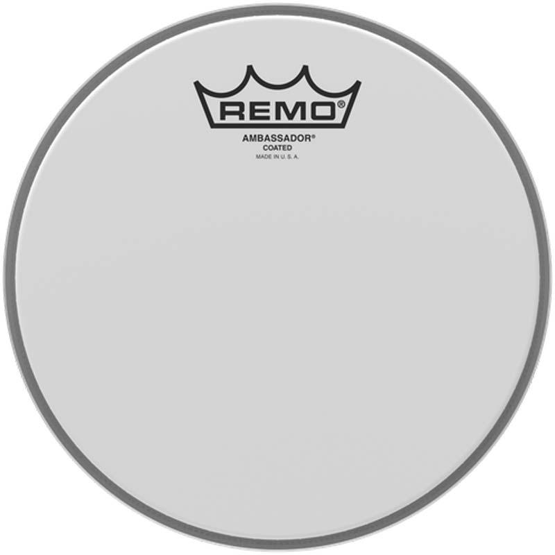 Remo 8″ Ambassador Coated