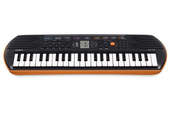 Casio SA-76 klavijatura