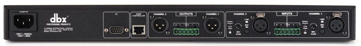 DBX 220i 2×2 Loudspeaker Management System