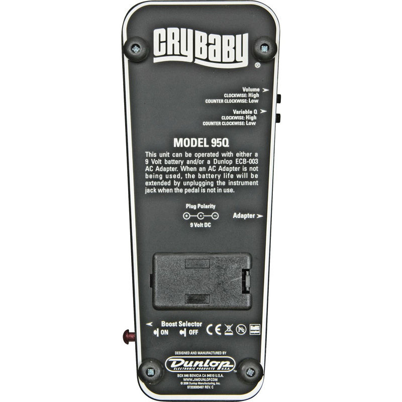 Dunlop Cry Baby 95Q wah pedala
