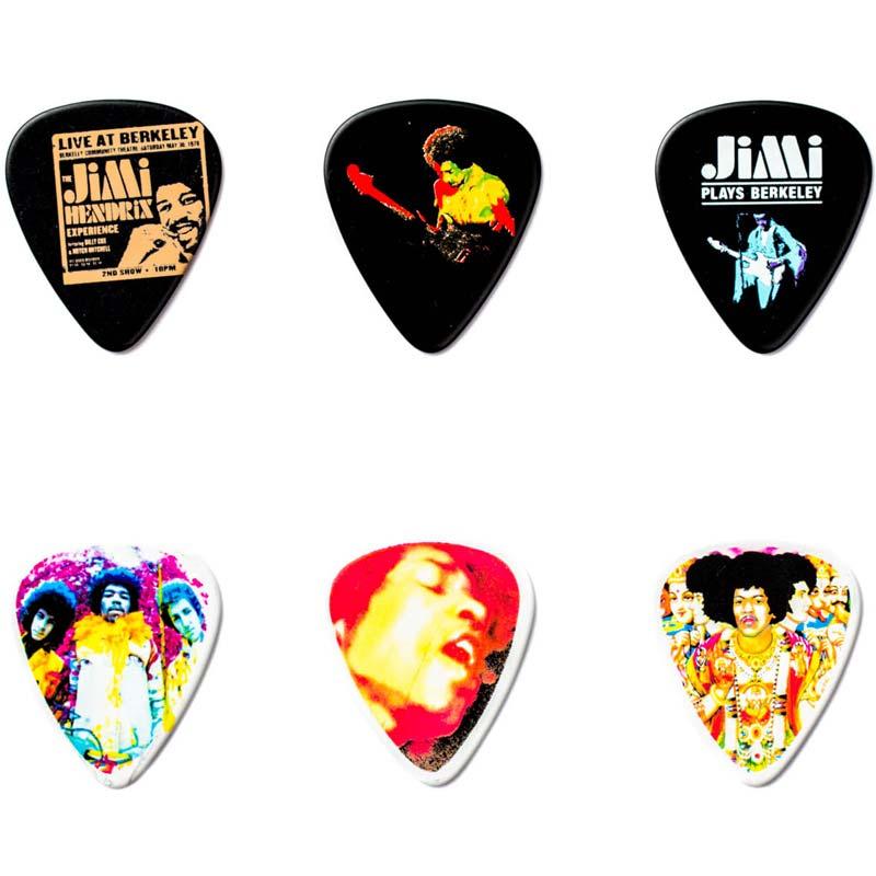 Dunlop Jimi Hendrix PICK TIN JH-PT02M komplet trzalica