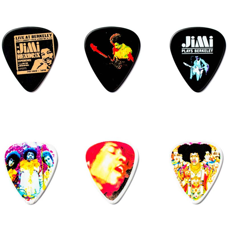 Dunlop Jimi Hendrix PICK TIN JH-PT03H komplet trzalica