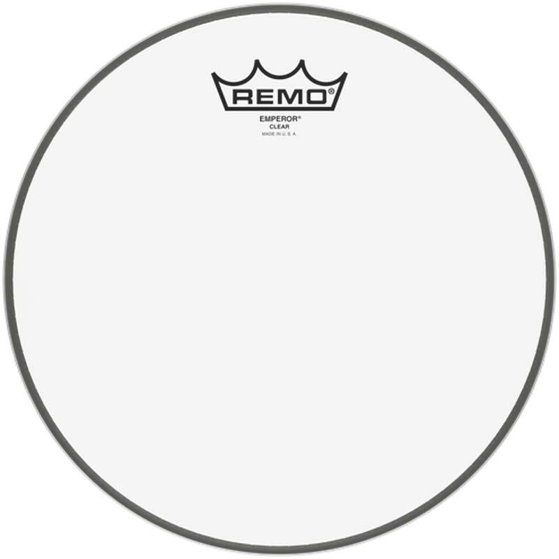 Remo 10″ Emperor Clear