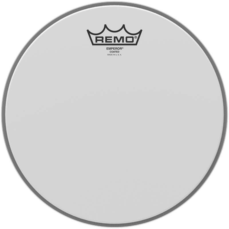 Remo 10″ Emperor Coated
