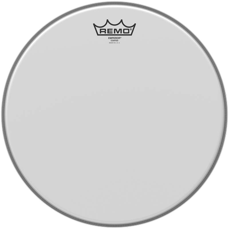 Remo 13″ Emperor Coated