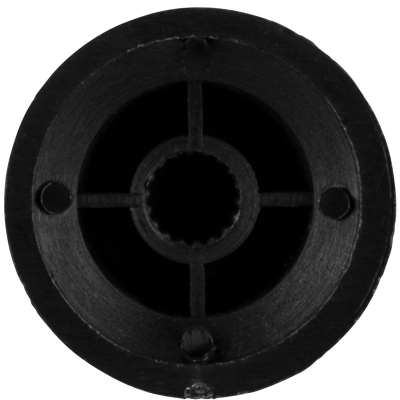 Fire&Stone Strat Tone crna kapica za potenciometar