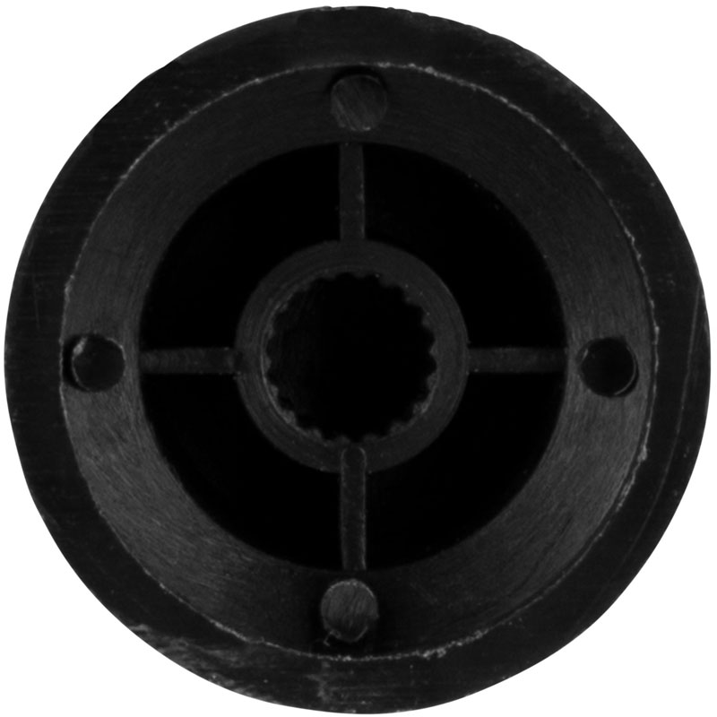 Fire&Stone Strat Volume crna kapica za potenciometar