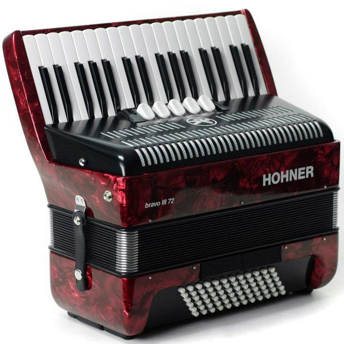 Hohner Bravo III 72