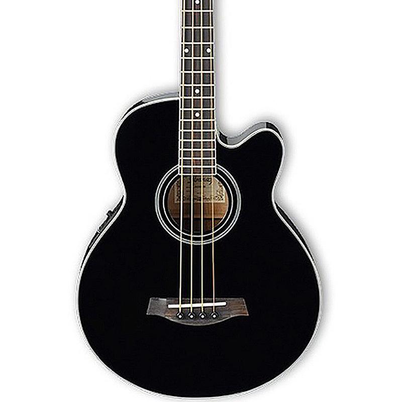 Ibanez AEB8E-BK akustična bas gitara
