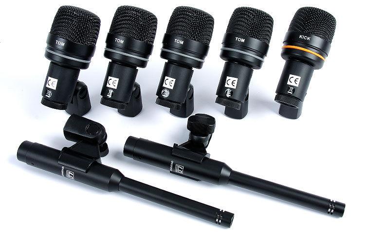 LD Systems D1017 SET mikrofoni za bubanj