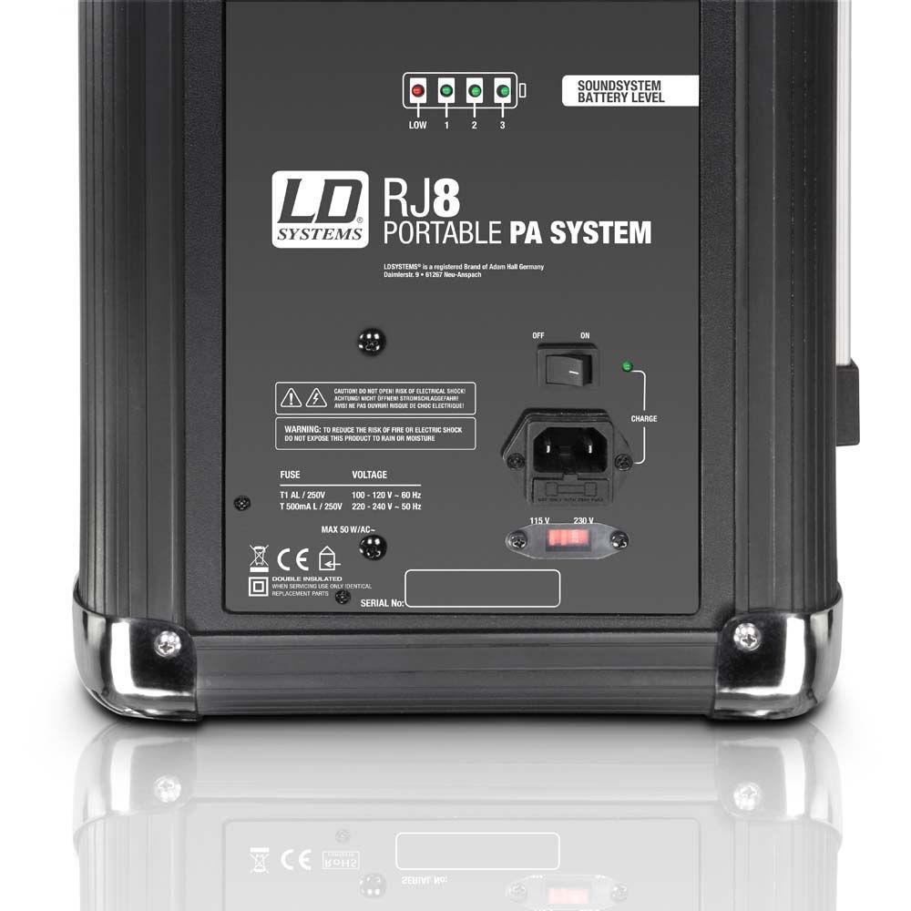 LD Systems ROADJACK 8 portabl aktivni sistem