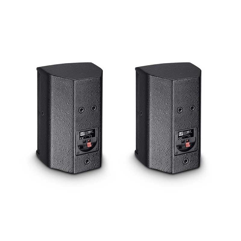 LD Systems SAT 42 G2 4″ passive Installation Monitor black (pair)