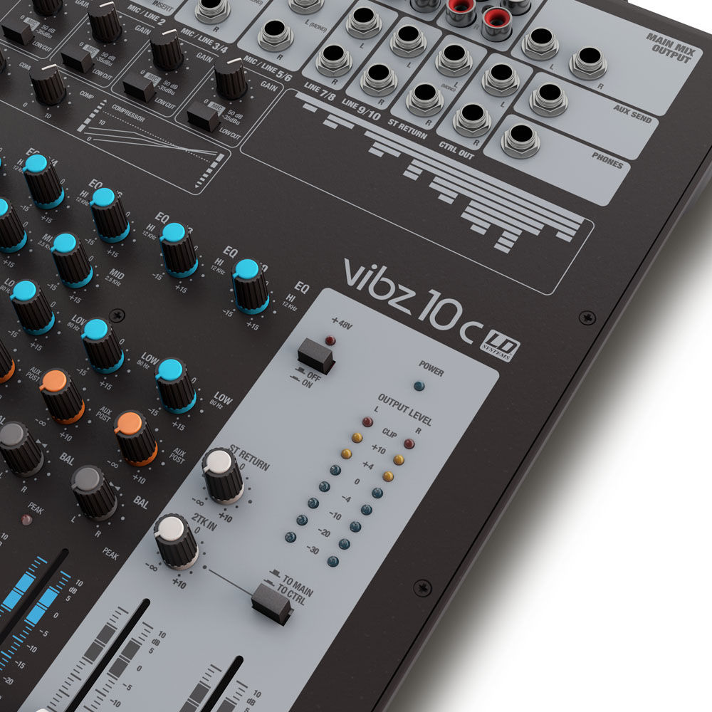 LD Systems VIBZ 10C mikseta