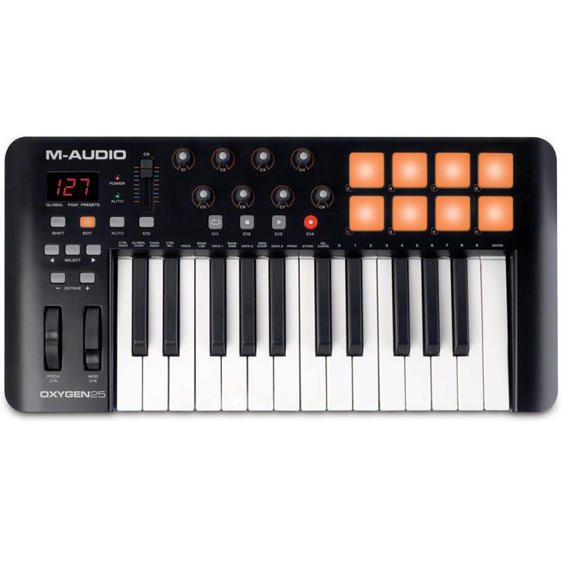 M-Audio Oxygen 25 MK IV midi klavijatura