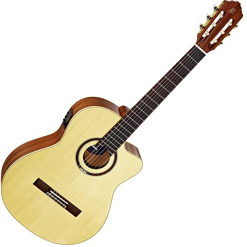 Ortega RCE138SN slim neck ozvučena klasična gitara