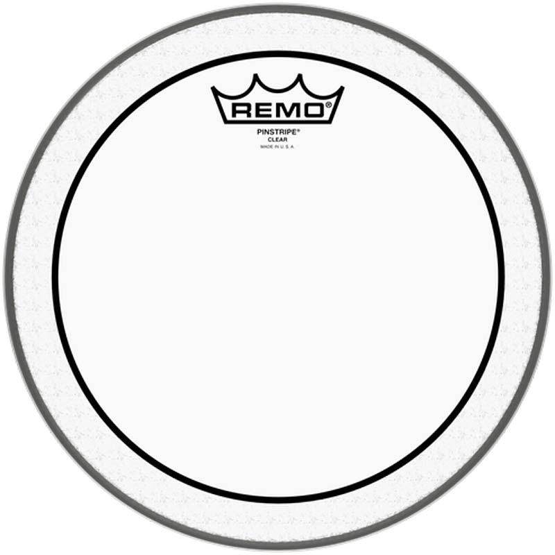 Remo 10″ Pinstripe Clear