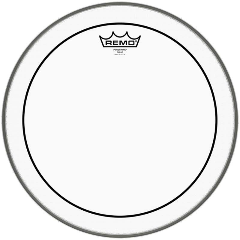 Remo 14″ Pinstripe Clear