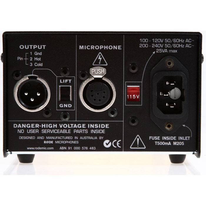 RODE K2 kondenzatorski mikrofon sa lampom