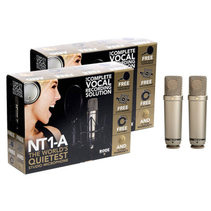 Rode NT1-A par kondenzatorskih mikrofona