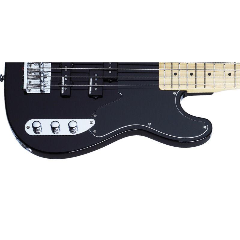 Schecter Model-T Blk M/M bas gitara