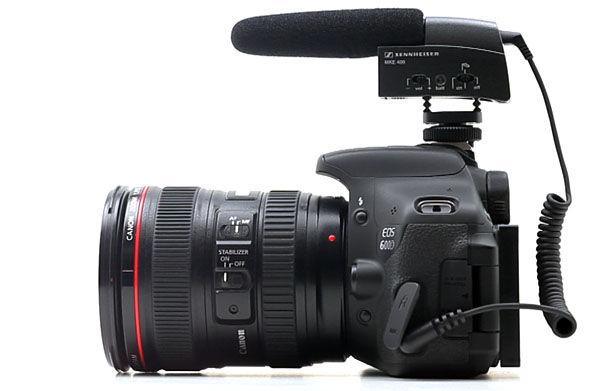 Sennheiser MKE 400 DSLR mikrofon za kameru