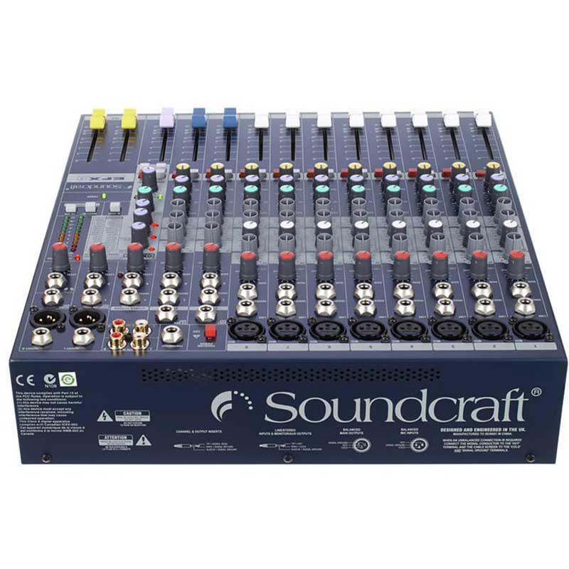 Soundcraft EFX8 mikseta sa efektima
