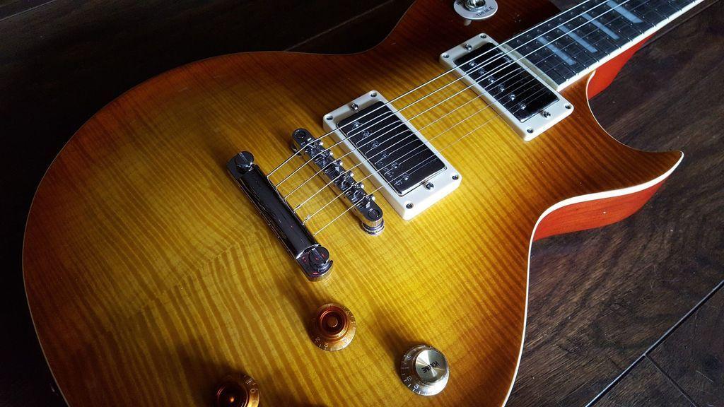 Vintage V100PGM Lemon Drop električna gitara