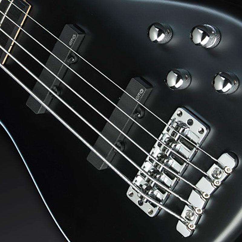 Warwick Artist Line Robert Trujillo 5 Solid Black Satin bas gitara