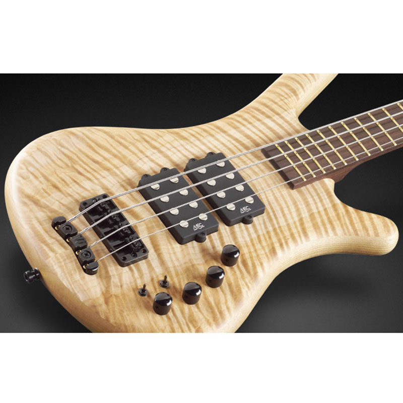 Warwick Corvette $$ 4 natural oil finish bas gitara