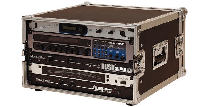 Warwick RockCase RC 24106 B Professional Line Rack Case za 6 jedinica