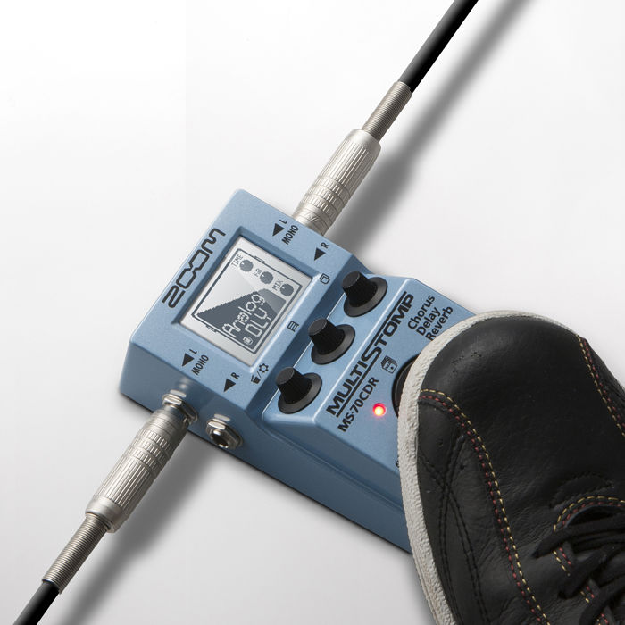 ZOOM MS-70CDR MultiStomp gitarska pedala