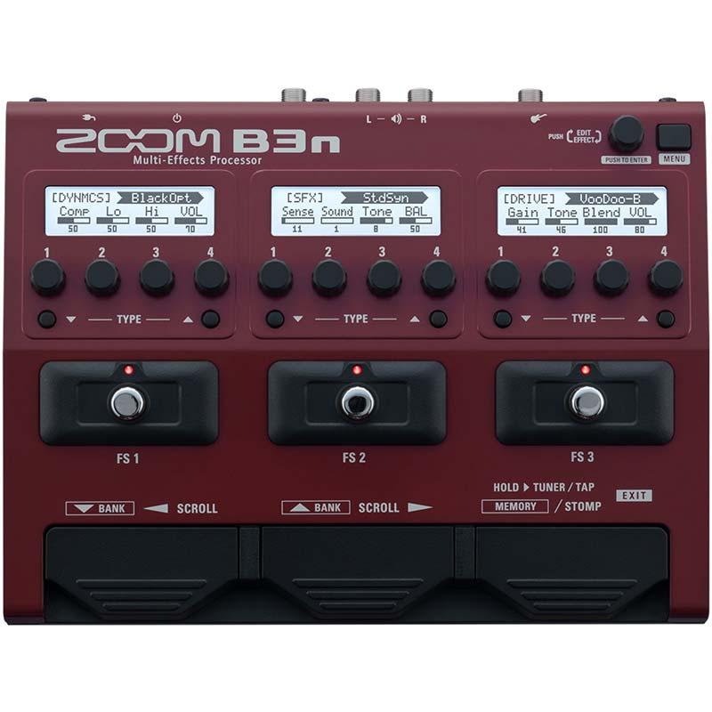 Zoom B3n procesor za bas gitaru