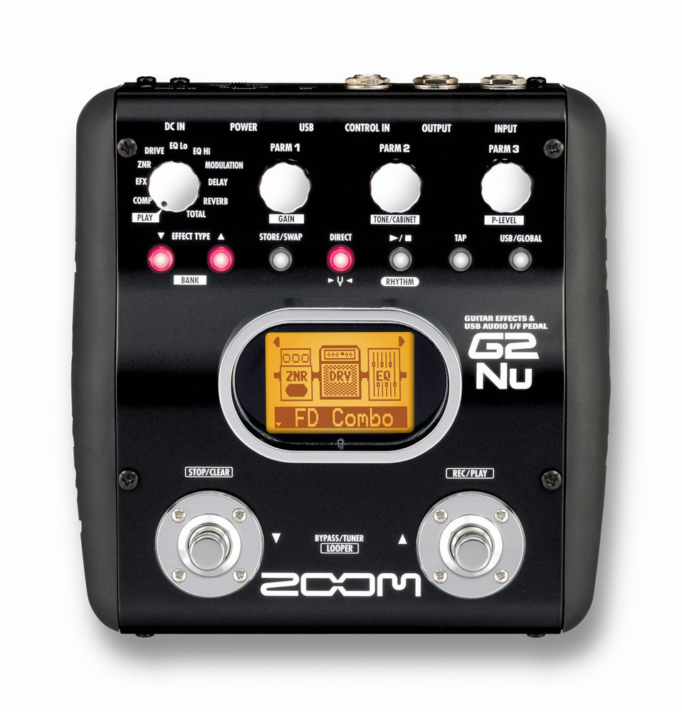 Zoom G2Nu – Guitar Effects Pedal + USB Interface