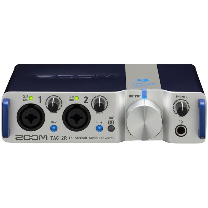 zoom tac 2r audio interface music media centar. Black Bedroom Furniture Sets. Home Design Ideas
