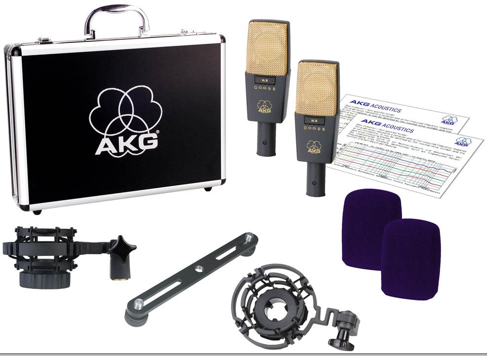 AKG C414 XL II/ST stereo set mikrofona