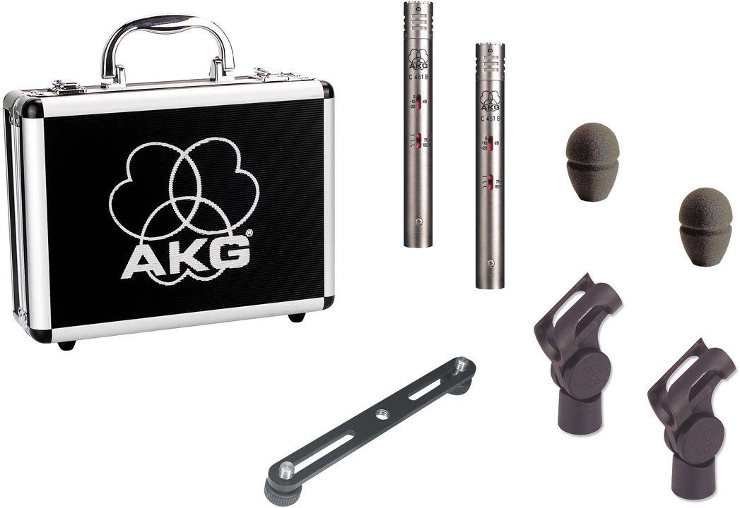 AKG C451 B/ST set mikrofona za snimanje