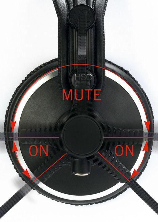 AKG HSC271 slušalice sa mikrofonom