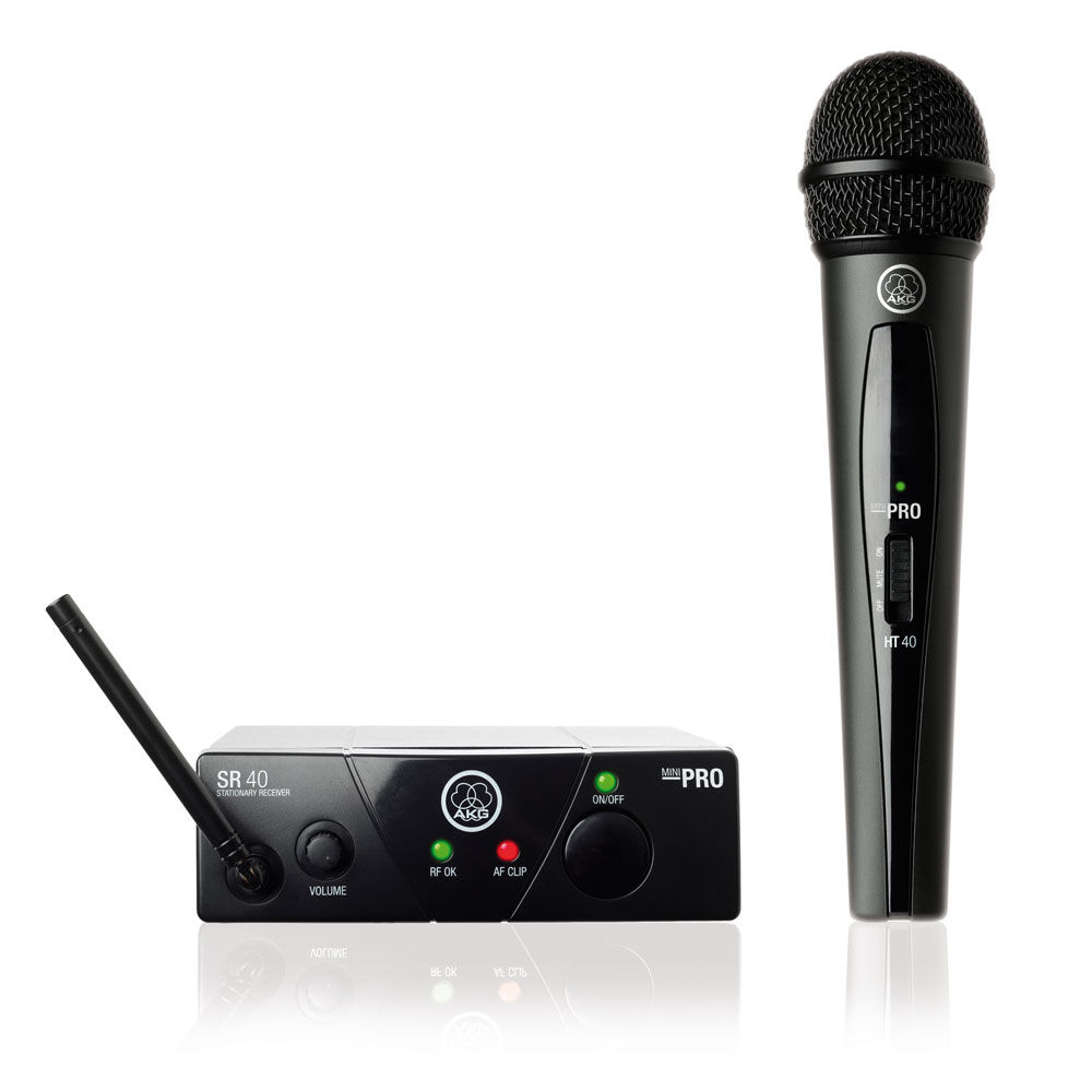 AKG WMS40 MINI Vocal Set Single