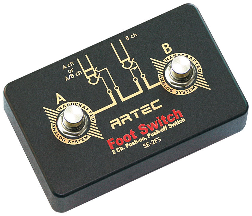 Artec SE-2SF 2CH Foot Switch