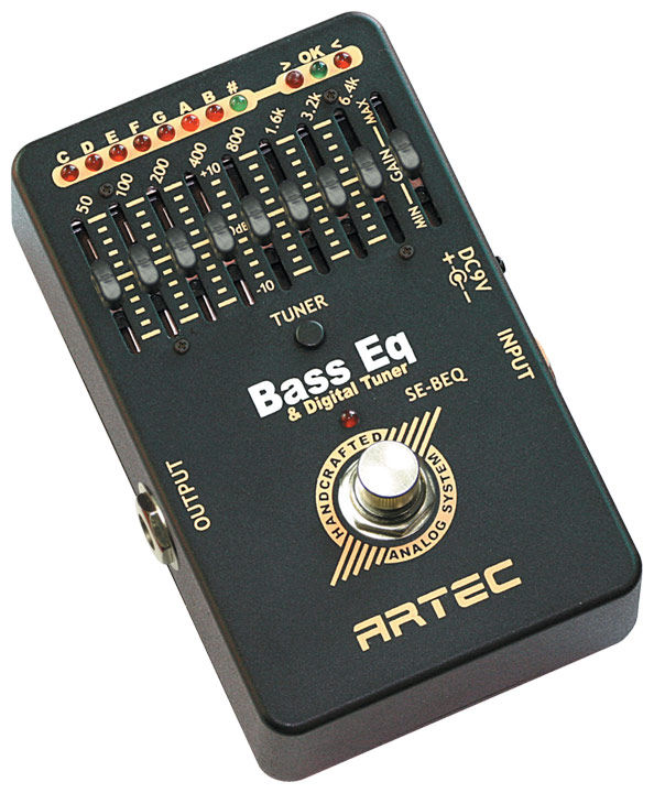 Artec SE-BEQ Bass Equaliser & Chromatic Tuner