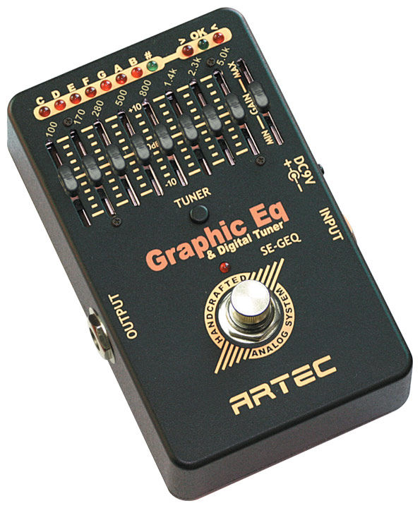 Artec SE-GEQ Graphic Equaliser & Chromatic Tuner