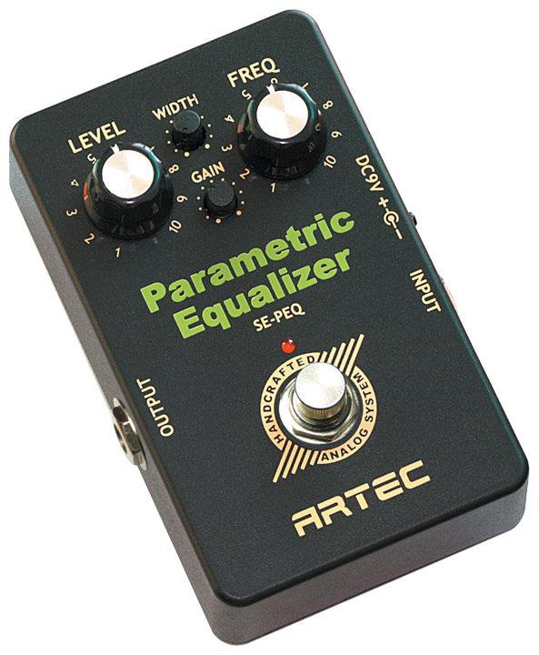 Artec SE-PEQ Parametric Equaliser