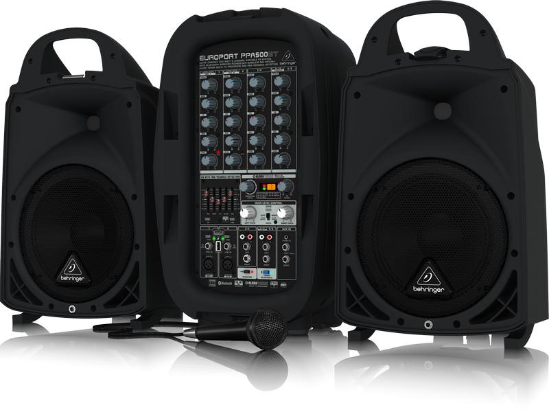 Behringer Europort PPA500BT aktivni razglasni sistem