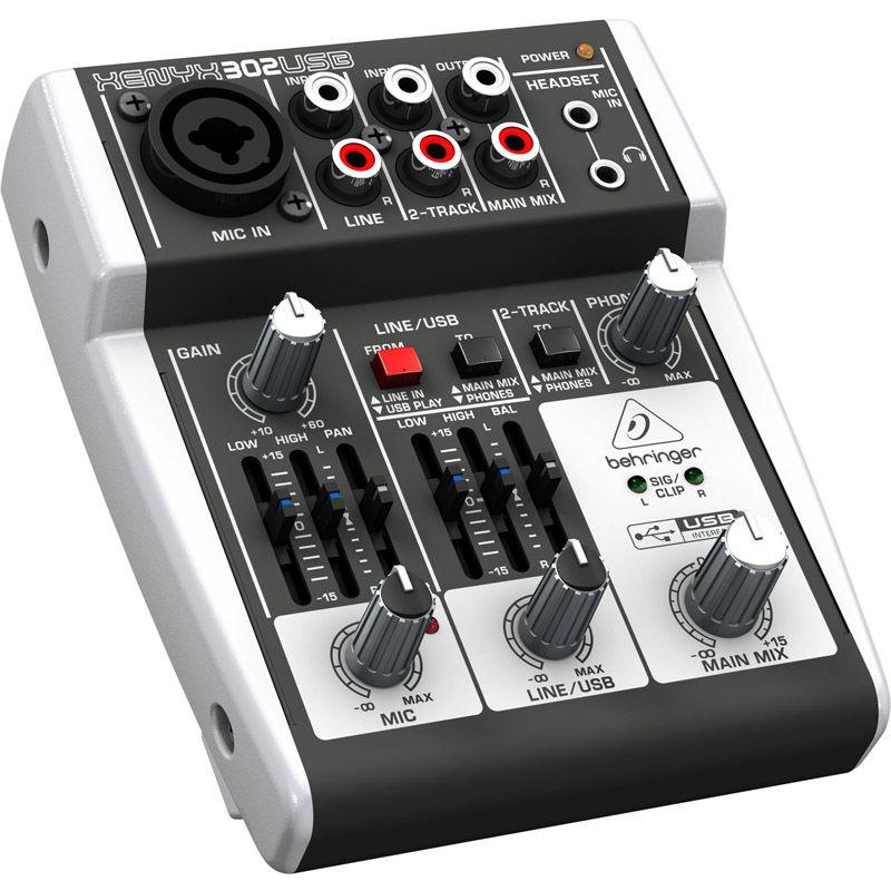 Behringer XENYX 302 USB mikseta