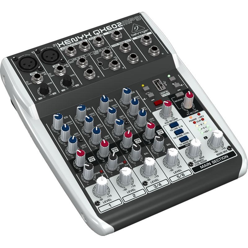 Behringer XENYX QX602 MP3 mikseta