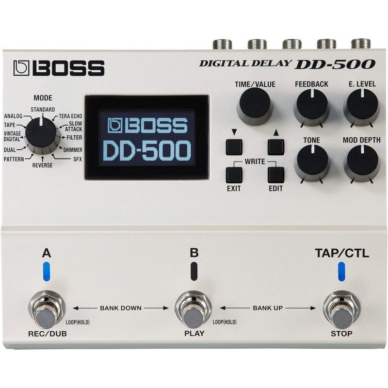 Boss DD-500 digitalna delay pedala