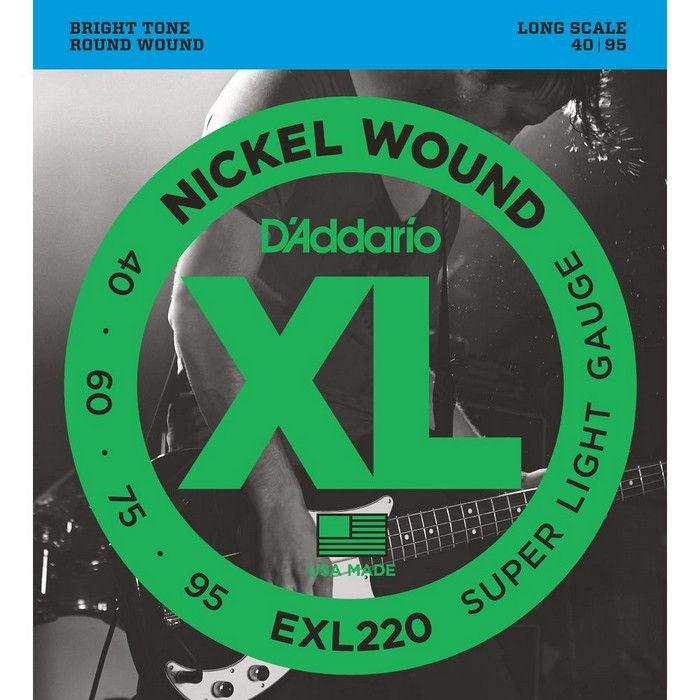 D`Addario EXL220 XL žice za bas gitaru